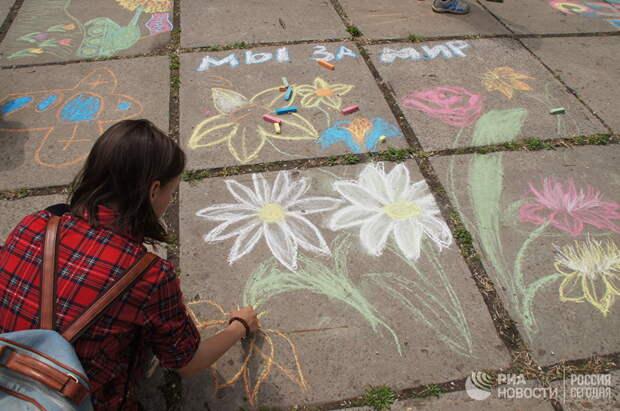 Дети  записали обращение к Порошенко
