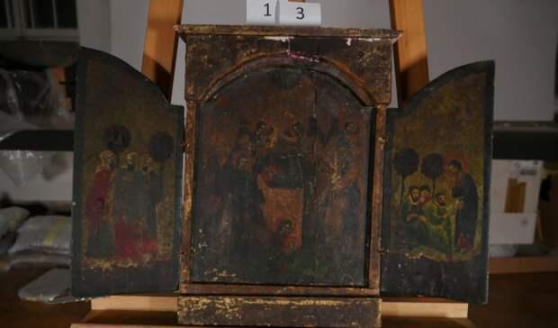Полиция Оренбуржья ищет владельцев найденных вПольше старинных икон