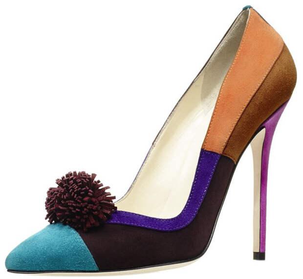 Яркие туфли 2014-2015
