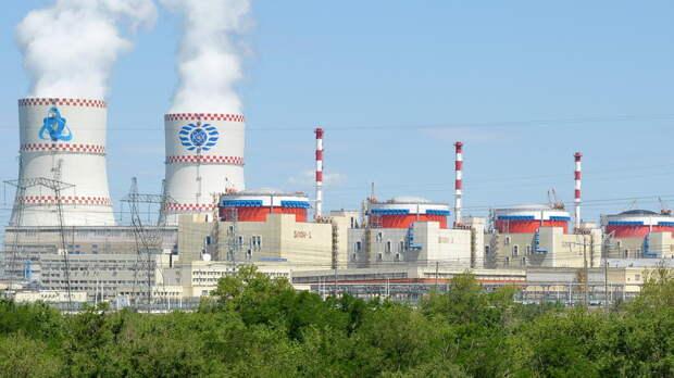 Ростовская АЭС увеличила объемы выработки электроэнергии