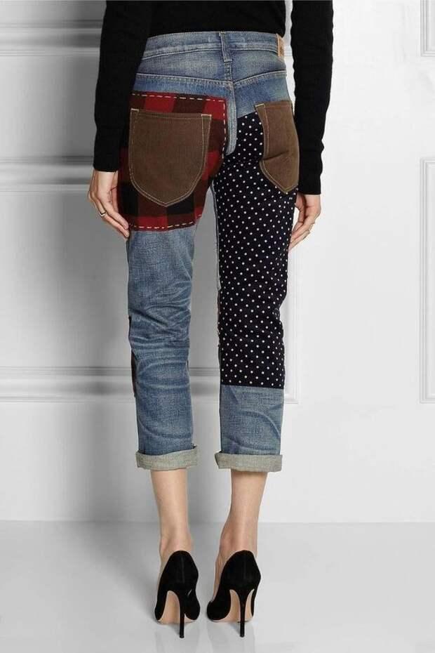 современный пэчворк одежда