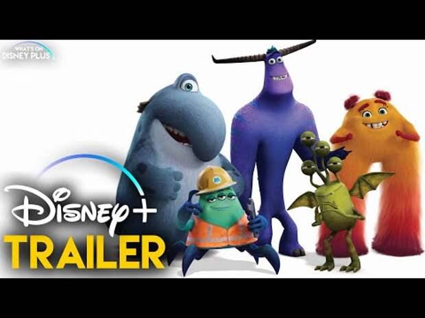 Вышел тизер мультфильма «Монстры за работой» от Disney