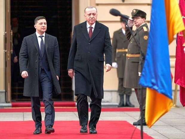 Поддержавший Киев Эрдоган в разговоре с генсеком НАТО обсудил кризис между Россией и Украиной