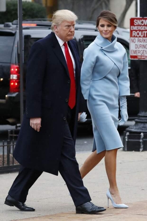 Женщина раздора: эволюция стиля Меланьи Трамп