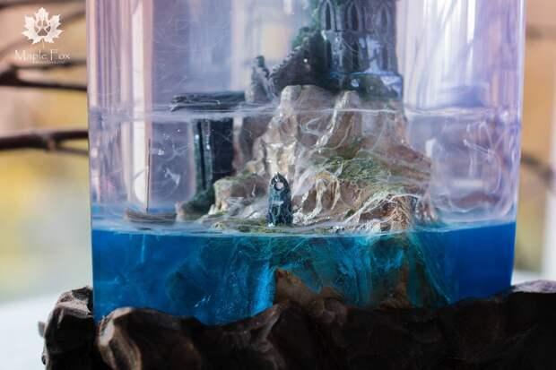 Фэнтезийные миры в украшениях и предметах декора