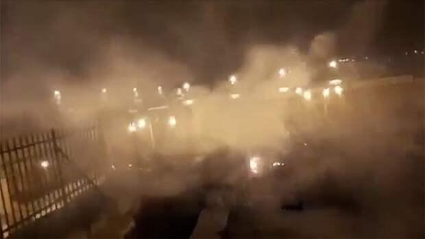 Пожар вспыхнул на Храмовой горе в Иерусалиме