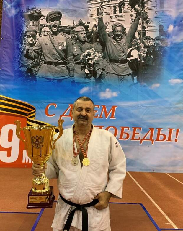 Дзюдоист из Марьина во второй раз завоевал титул Чемпиона России
