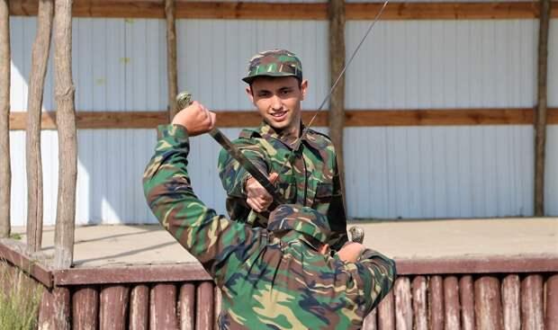 В Тихорецком районе казаки провели военно-полевые сборы