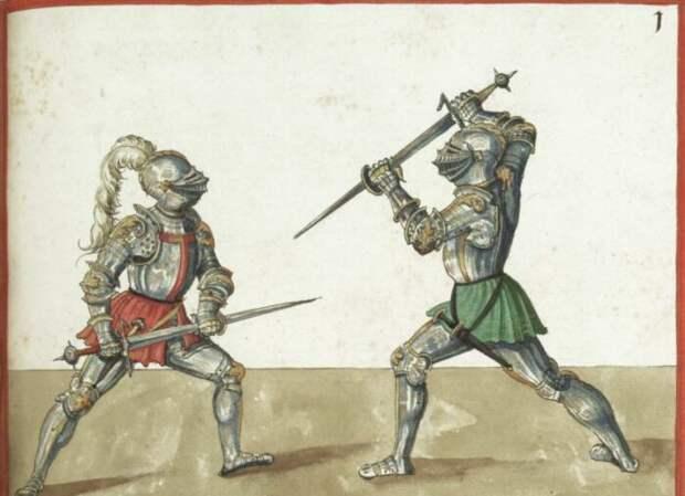 Средневековые военные трактаты - вещь в себе. /Фото: wiktenauer.com.