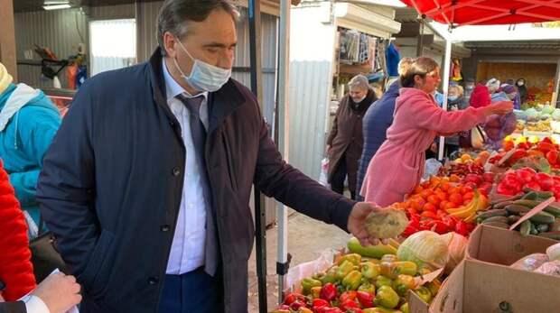 Рюмшин оценил ситуацию на рынках Джанкоя