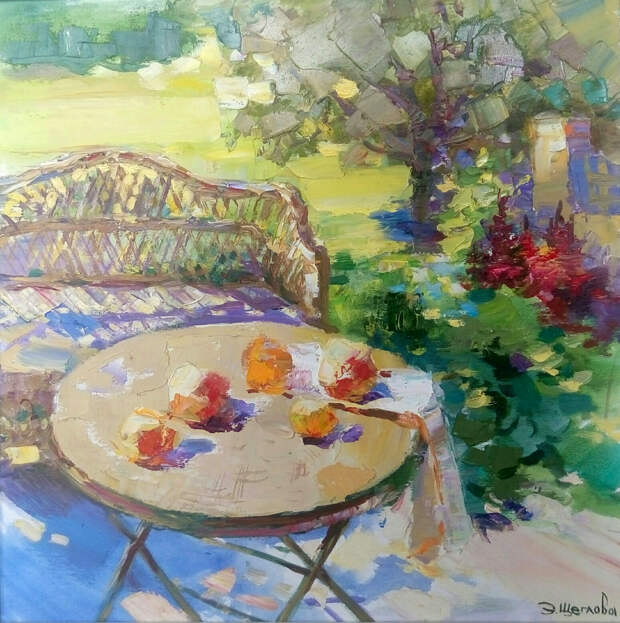 «Красота цветов настолько проникает в душу, что невозможно не написать их» — натюрморты Элеоноры Щегловой