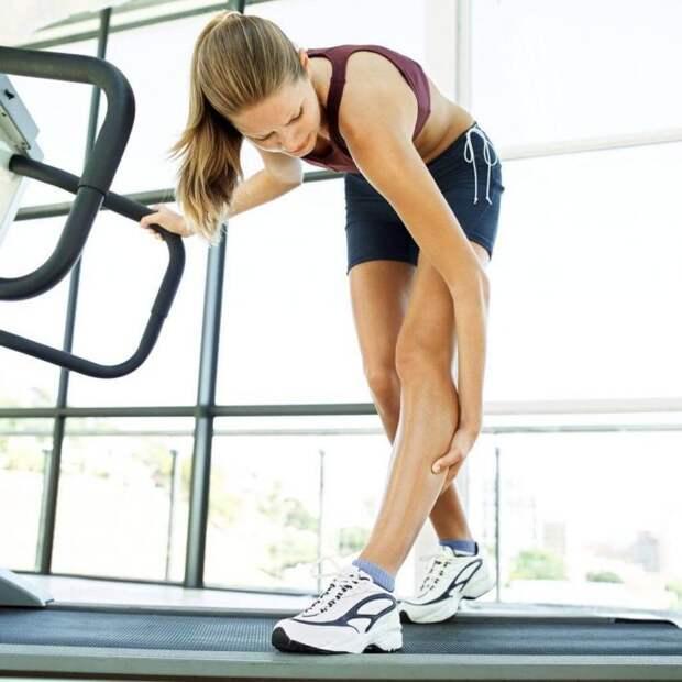 чрезмерная нагрузка на икроножные мышцы