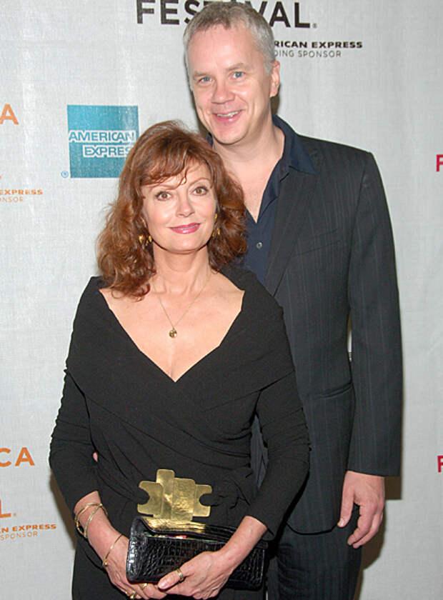 """Звезда """"Побега из Шоушенка"""" Тим Роббинс разводится с женой, которая младше его на 33 года"""