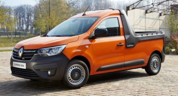 Renault начала реализации бюджетного пикапа Express