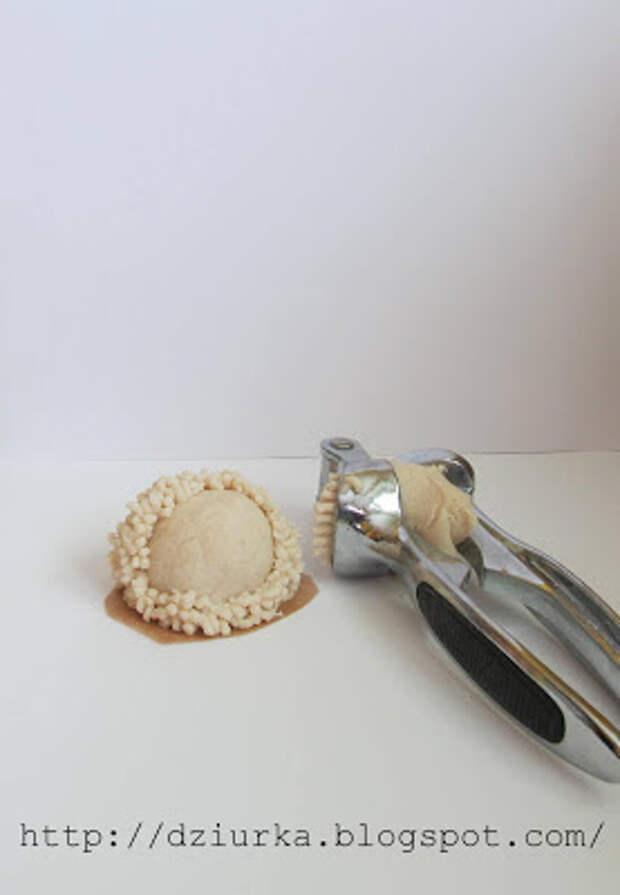 Забавные барашки из солёного теста - просто, красиво и совсем не затратно