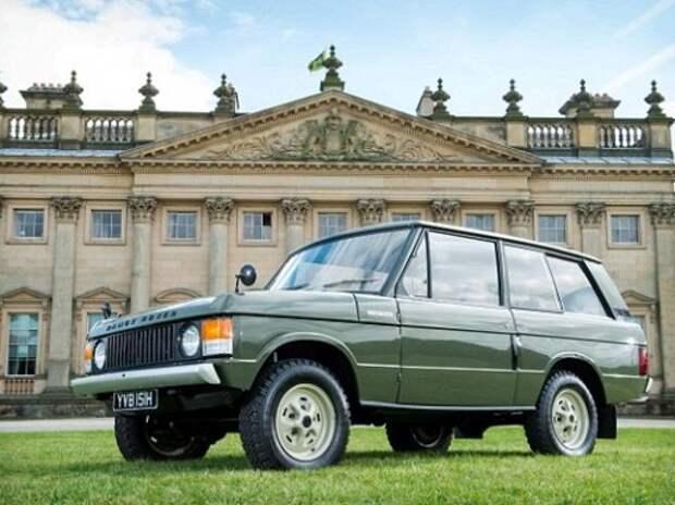 Первый Range Rover 1969 г.в. продадут с аукциона за 150 000 фунтов