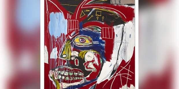 Картину неоэкспрессиониста Жана-Мишеля Баскии продали $93 млн