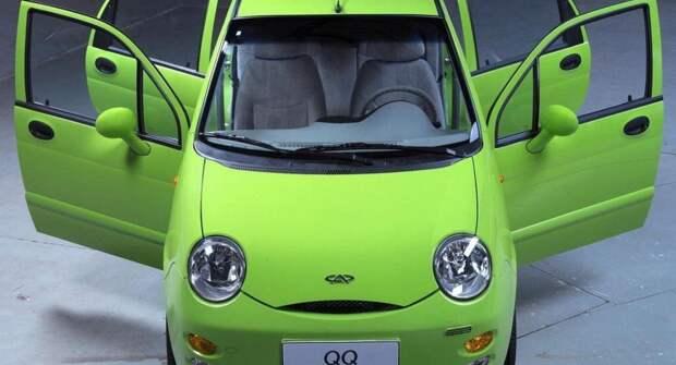 Chery QQ — городской автомобиль из Поднебесной