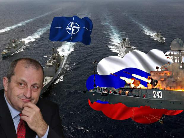 Яков Кедми прокомментировал намерения России уничтожать военные корабли НАТО в случае нарушения границ РФ