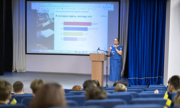 Юлия Шулёпина провела интеллектуальный марафон «Ценности семьи».