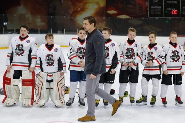 Звезда КХЛ Денис Абдуллин организовал в Строгине детскую хоккейную команду