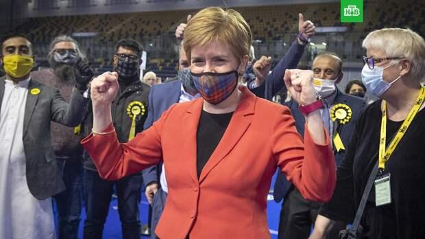 Сторонники независимости получили большинство мест в парламенте Шотландии