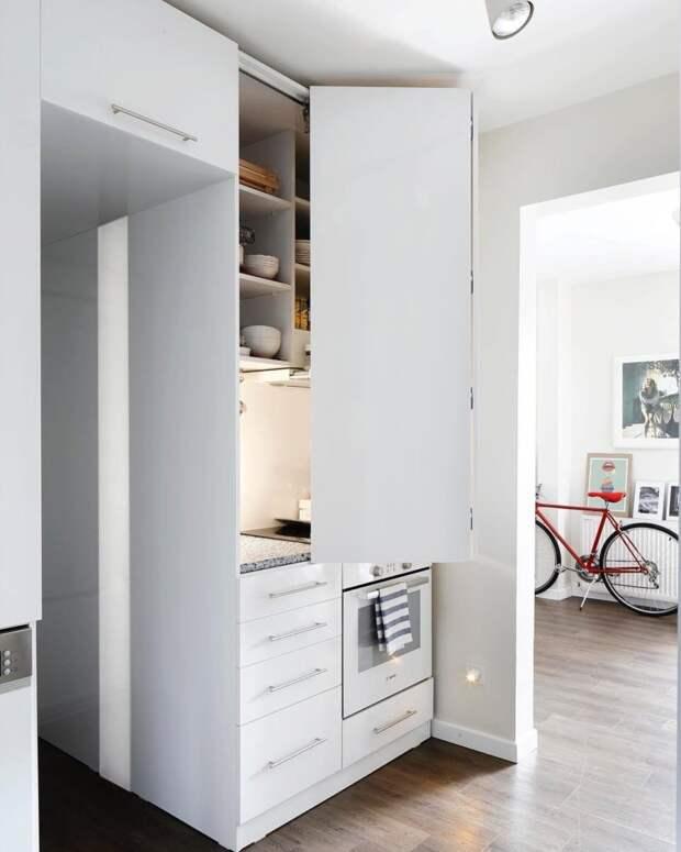 10 маленьких кухонь, поражающих комфортом и продуманностью