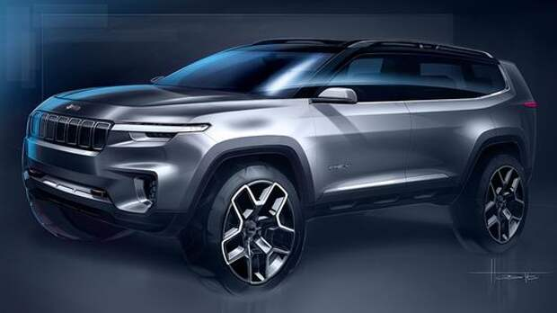Атлас против Атласа: Jeep готовит к премьере семиместный SUV