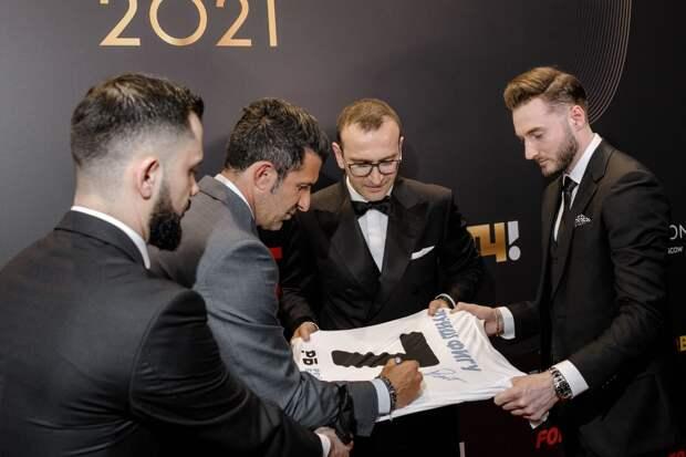 14 апреля состоялась церемония вручения Международной премии РБ