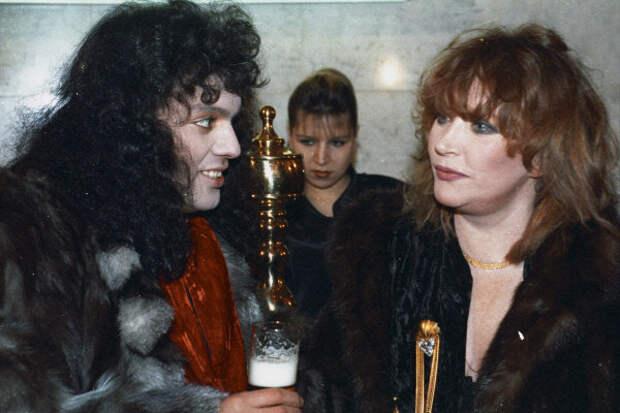 С Киркоровым в шубах с золотом и пивом, 1994-й