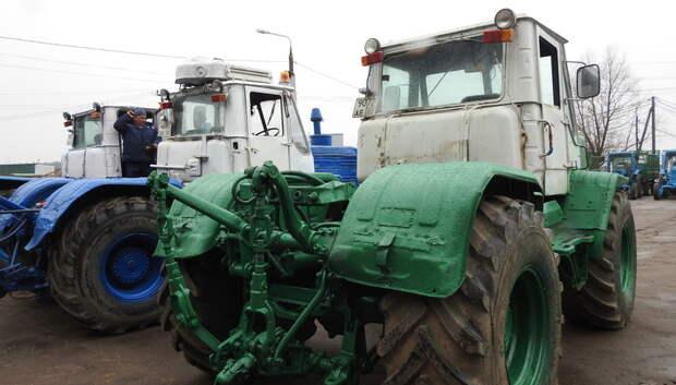 Сельскохозяйственную технику начали проверять на исправность в Подмосковье