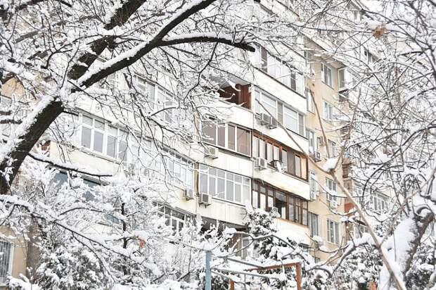На Кубани прогнозируют снегопады и метель