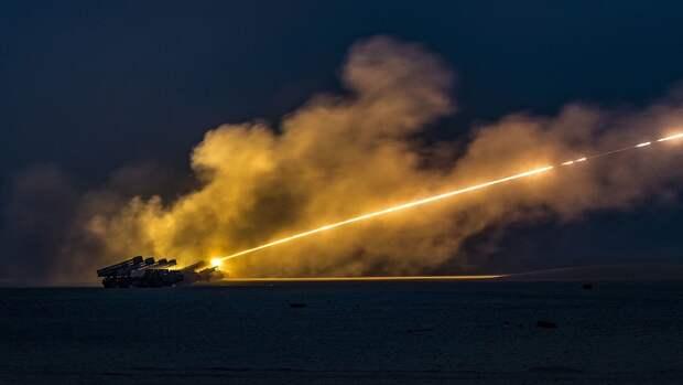 Белорусскую реактивную систему залпового огня «БелГрад-2» показали в действии