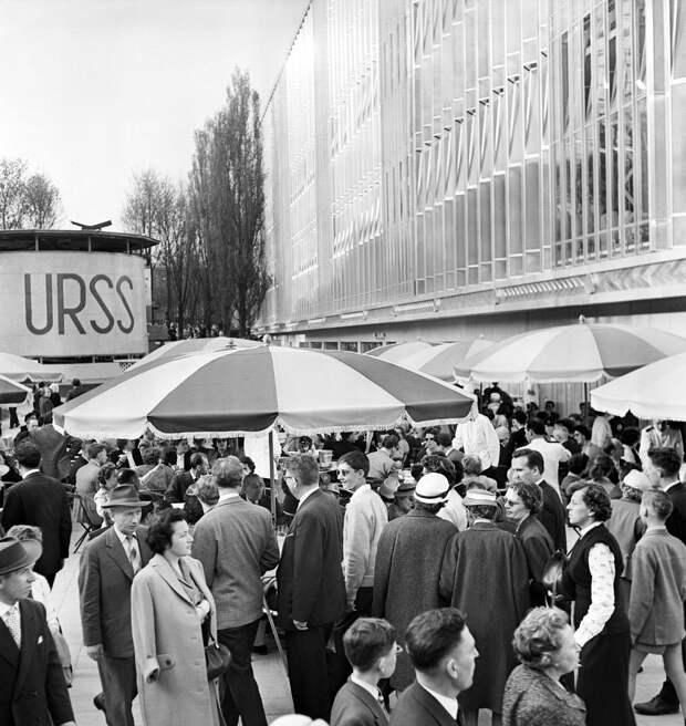 1958. Советский павильон на Всемирной выставке в Брюсселе