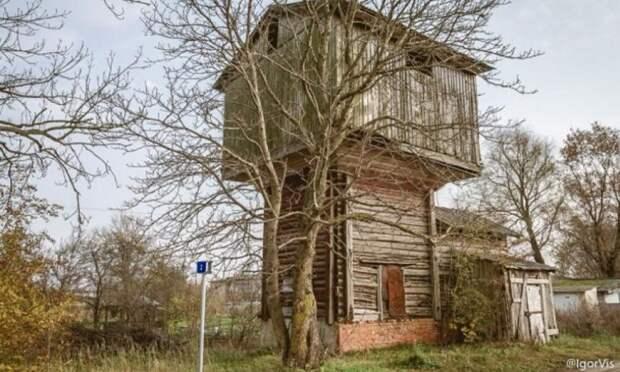 ВУстьянском районе сгорела водонапорная башня. Посёлок остался без воды