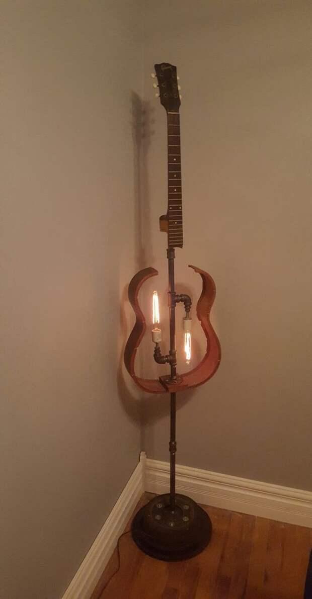 Гитарные светильники