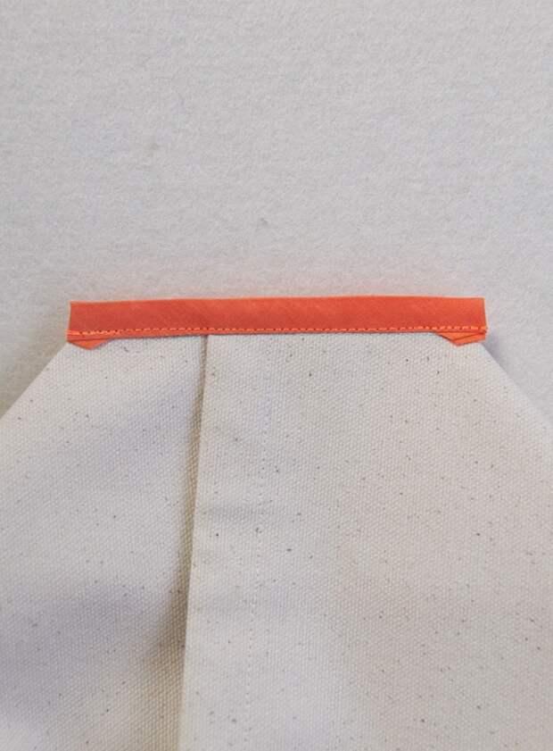 Сумка ведро с ручкой лентой DIY
