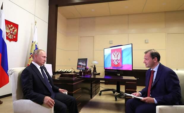 Интервью президента «России 24». Главное