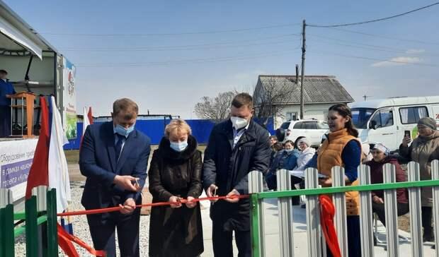 Вдеревне Савино Ишимского района торжественно открыли новый ФАП