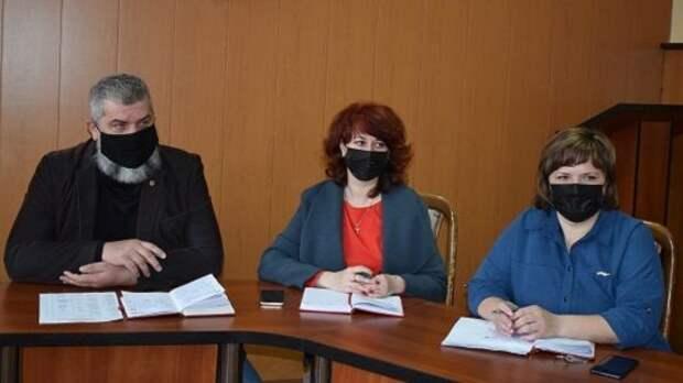 Андрей Сидоренко провел аппаратное совещание с руководителями организаций Джанкойского района