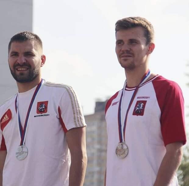 Пятиборцы из Северного взяли серебро на чемпионате России