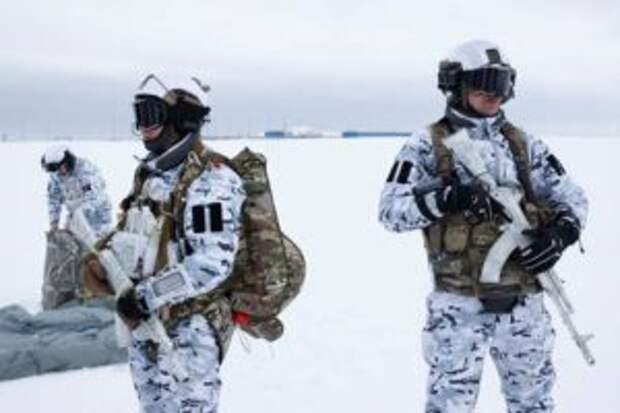 Десантники РФ впервые в мире в Арктике совершили прыжок группой с 10 км