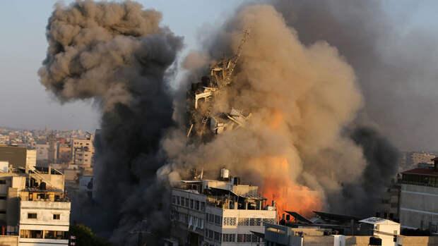 Армия Израиля атаковала главный штаб службы внутренней безопасности ХАМАС
