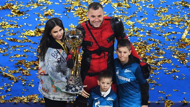 У капитана сборной России Дзюбы родился третий сын