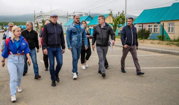Константин Шестаков остался недоволен увиденным наШаморе