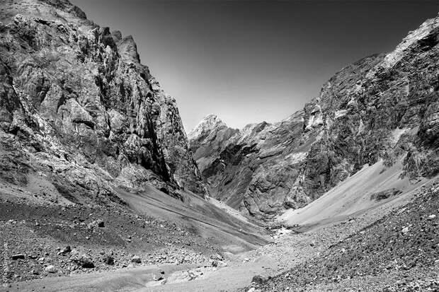 bnwmountains16 Черно белые фотографии гор