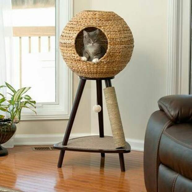 Необычные кошачьи домики и кроватки  (Трафик!)