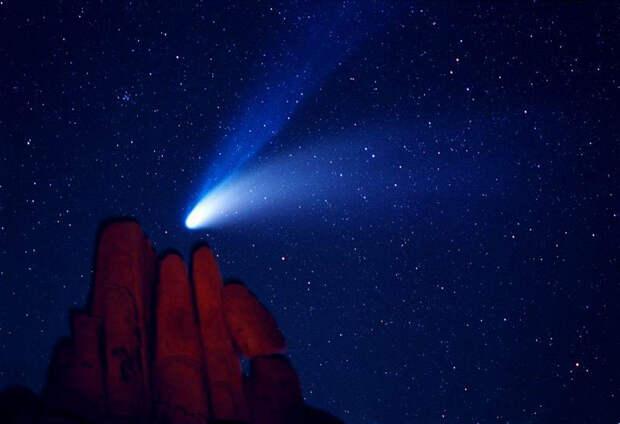 Кометы — блуждающие странницы Солнечной системы
