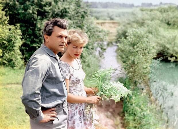 Советские красавицы актрисы с мужьями.