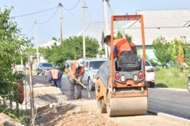 В микрорайоне Кызыл жар отремонтируют 5 км дорог